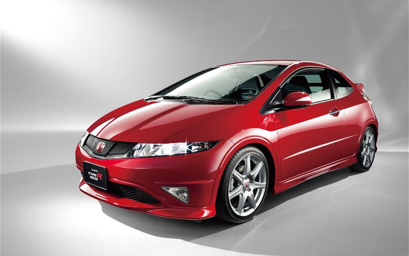 honda-civic-type-r-FN2-red-front-three-quarter